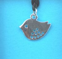 Bird pendant card