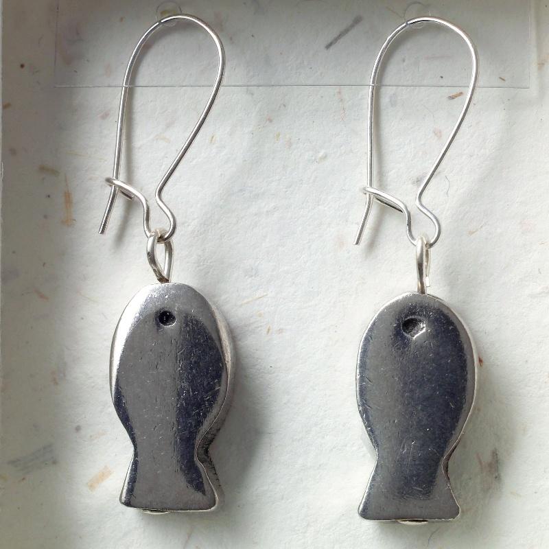 Fish earrings card