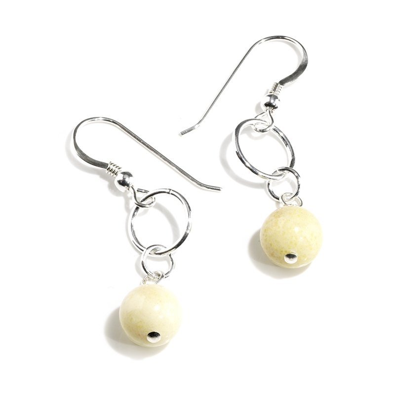 Butter Jade earrings