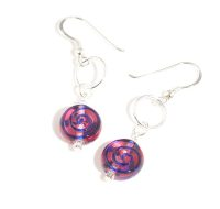 Pink Soda earrings