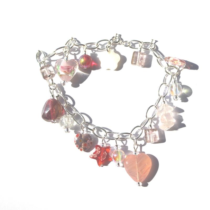 Rose Charm Bracelet