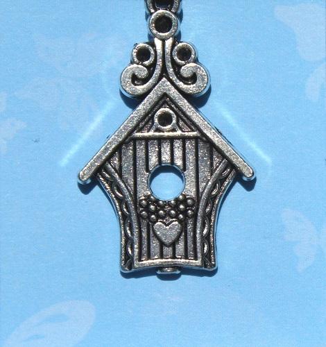 Birdhouse pendant