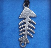 Fishbone pendant