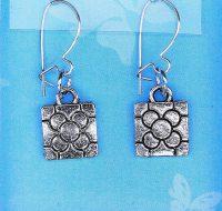 Flower Tile earrings