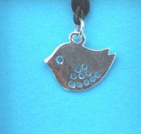 Bird pendant card