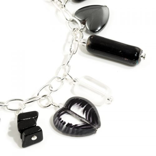 Monochrome Charm Bracelet