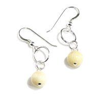Butter Jade earrings