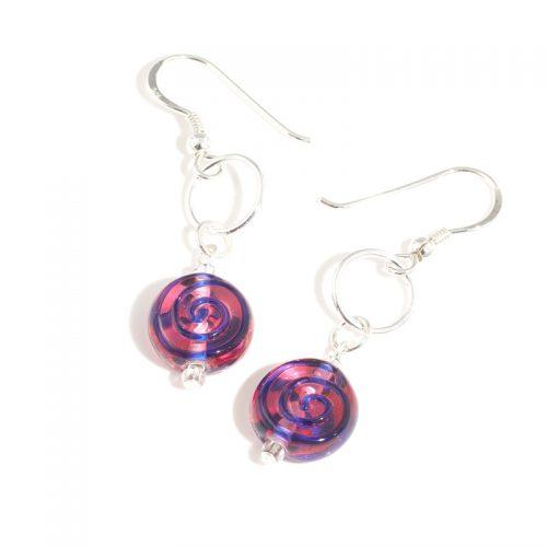 Pink Soda earrings