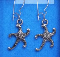 E18.53 Starfish earrings