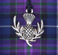 Thistle pendant